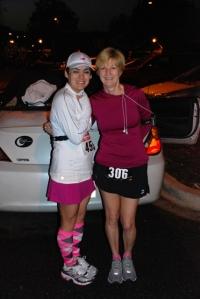 Pam & me pre-race