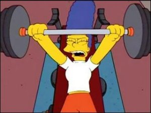 marge bench press