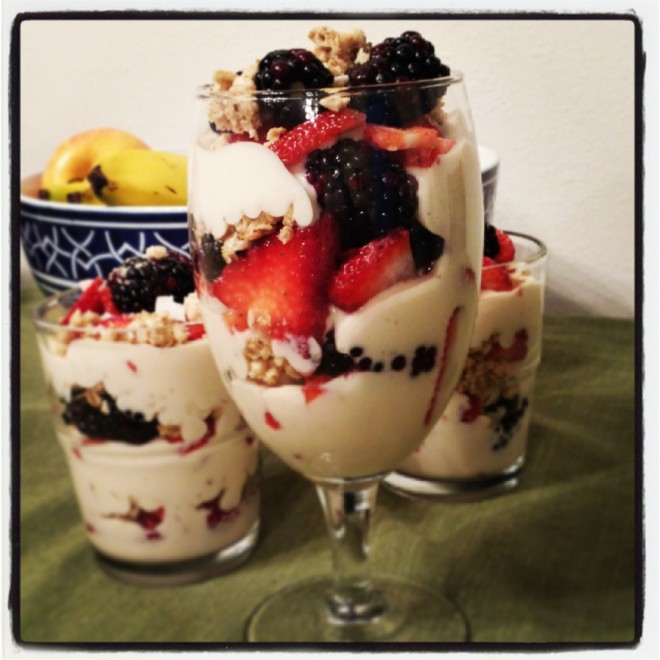 HERBALIFE FRUIT & YOGURT PARFAIT