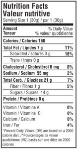 waffle-nutrition