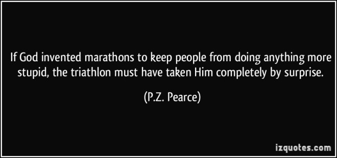 Triathlon quote