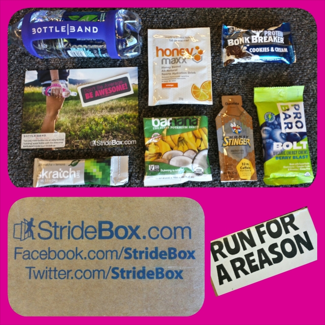 Stridebox skratch honeymaxx Bonk Breaker barnana Honey Stinger Probar Botteband Runner run