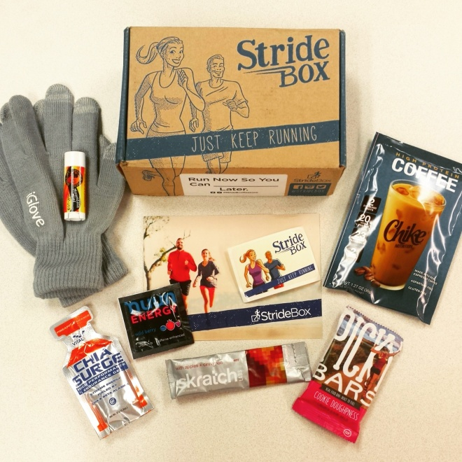 Stridebox running runner run inspiration review skratch chike vitalyte gloves gear picky bar
